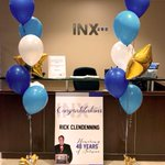Image for the Tweet beginning: This week INX celebrated the