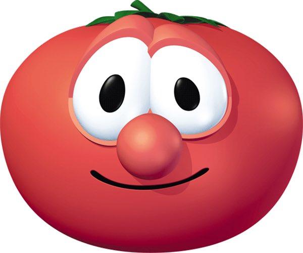 veggietales characters as vegetables