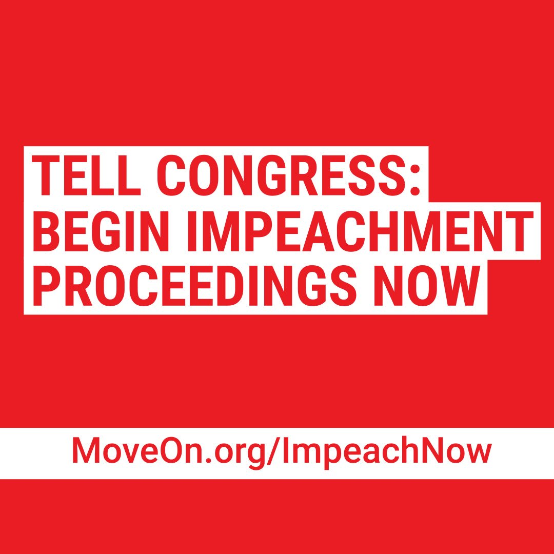 Demand impeachment