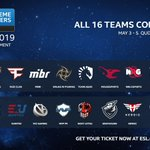 Image for the Tweet beginning: 16 TEAMS CONFIRMED!  With the @ChiefsESC