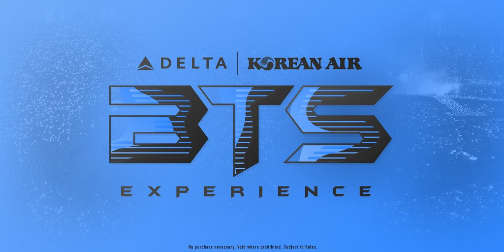 Want a chance to see #BTS perform at @RoseBowlStadium on Saturday, May 4th? Enter the @Delta + @KoreanAir_KE BTS Experience for a chance to win four premium club tickets. Enter here:  http:// bit.ly/BTSexperience  &nbsp;   by 4/26 at 11:59 p.m. PT. Official rules apply. Void where prohibited. <br>http://pic.twitter.com/CdgcEZbORb