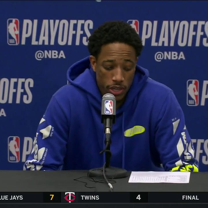 """If we take care of home like we have all year, we are going to have an opportunity.""  @Spurs have been rocking at home all season. Now it's time to carry it into the playoffs 💪  @DeMar_DeRozan 