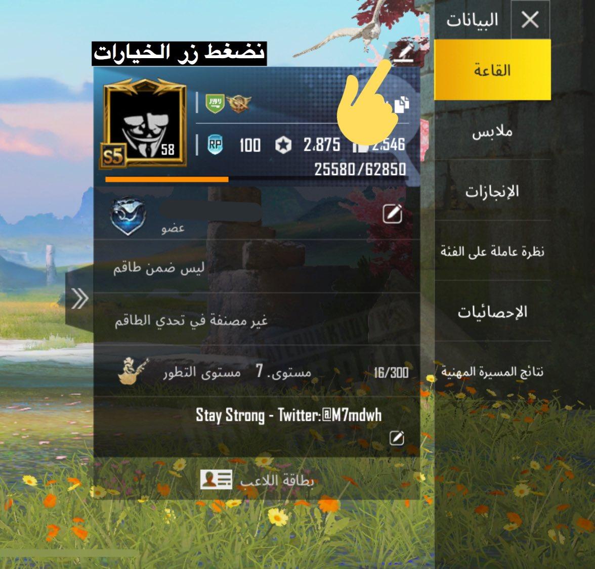 ببجي بالعربي Ar Twitter لكثرة الاسأله عنها طريقة إخفاء أسماء
