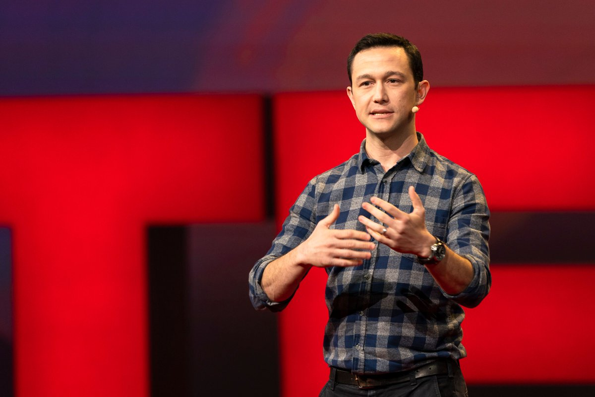 """""""There is no amount of attention you can get where you arrive, and you're like, 'Ah, I'm good now...' If your creativity is driven by a desire to get attention, you're never going to be creatively fulfilled."""" @hitRECordJoe #TED2019"""