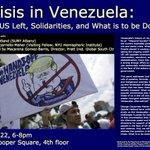 Image for the Tweet beginning: Crisis in Venezuela, Monday at
