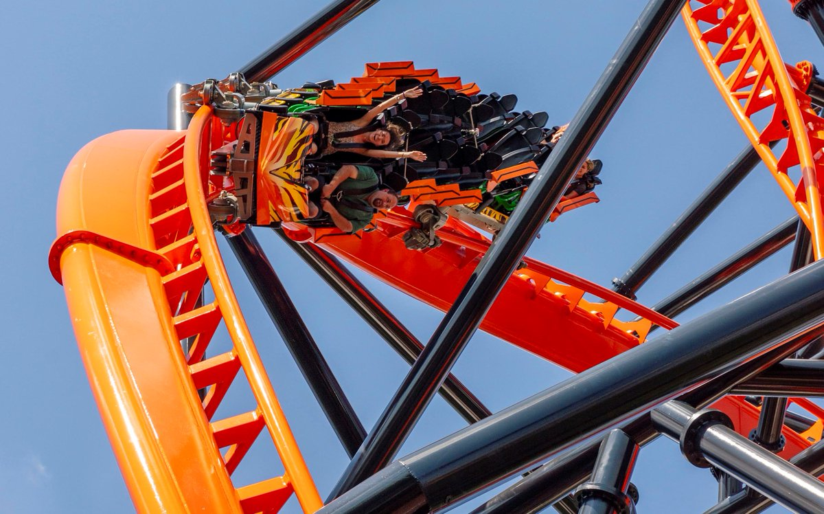 Tigris roars to life this weekend at @BuschGardens. Grab your courage and climb aboard #Florida's tallest launch coaster, complete with a heart-in-your-throat heartline roll 150 feet above the park! #UnlockTampaBay thrills this weekend! http://bit.ly/2Uk3brh