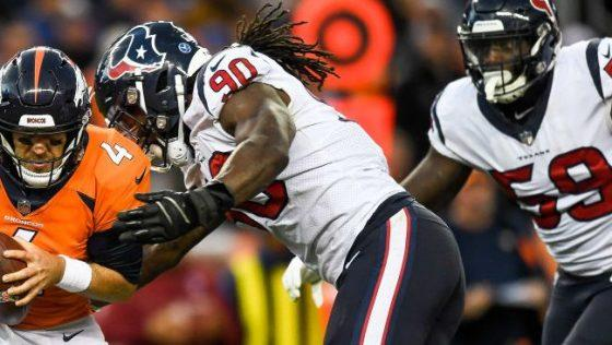 """GM Brian Gaine on intentions of @HoustonTexans to sign Jadeveon Cowney to long-term deal: """"That's the plan."""" #NFL http://bit.ly/2vdOAyA"""