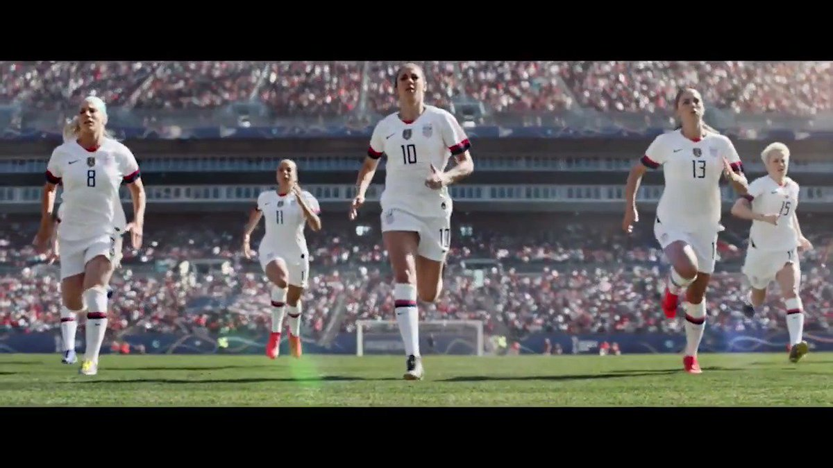 Think David can defeat Goliath? Think again.   Watch the 2019 Women's World Cup this June on FOX. #AllEyesOnUS