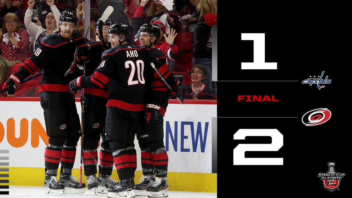 THE SERIES IS TIED. #TAKEWARNING