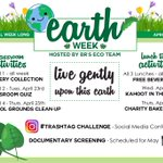 Image for the Tweet beginning: @BishopReding is celebrating Earth Week