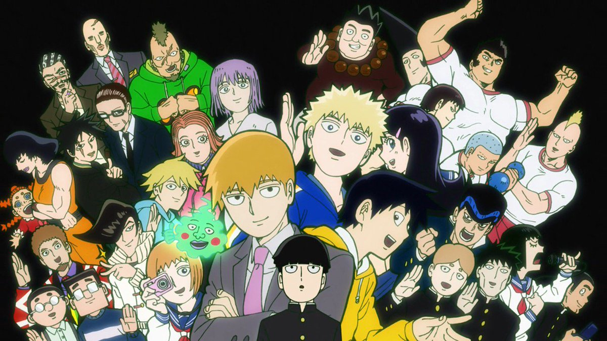 ✨ALL OF MOB PSYCHO 100✨  ✨COMING TO CRUNCHYROLL✨  ✨DUBBED IN ENGLISH✨  INFO: http://got.cr/mob-dub