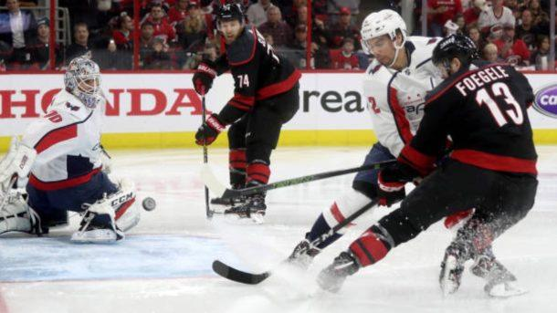 The @NHLCanes hold serve on home ice to even series against @Capitals. #StanleyCup http://bit.ly/2DktvqE