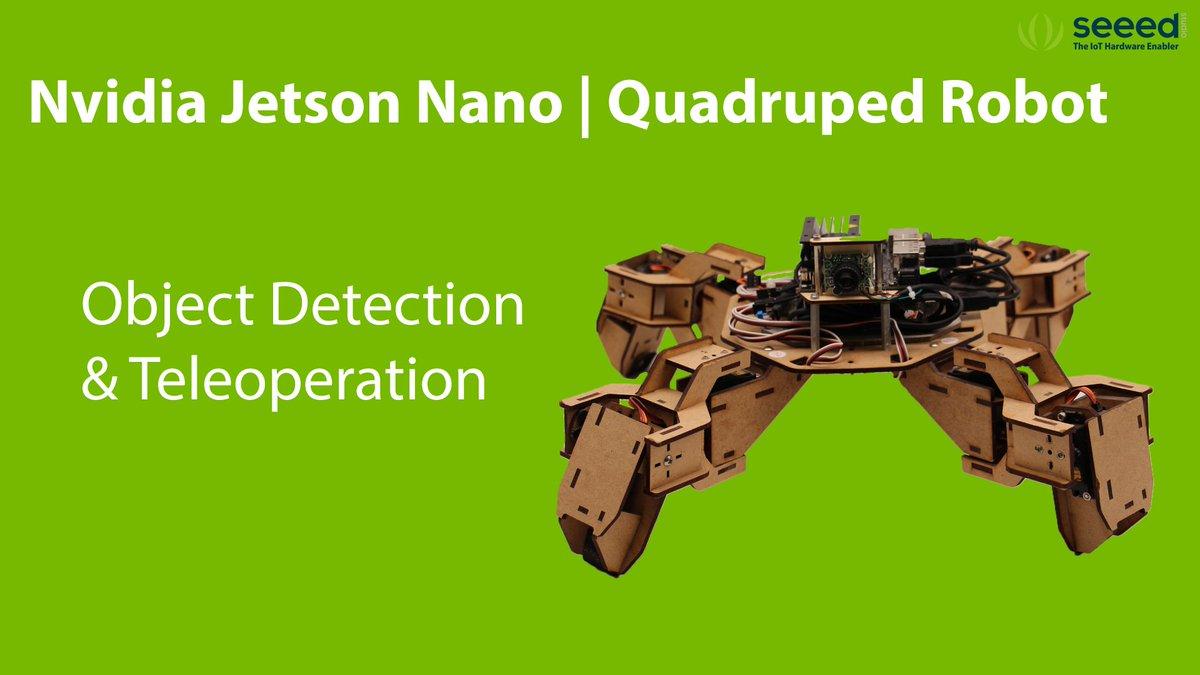 NEW #Jetson #Nano Project : Jetson Nano Quadruped Robot