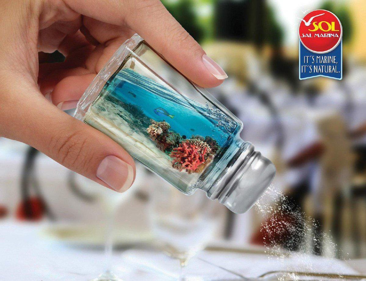 Картинка с солью для рекламы