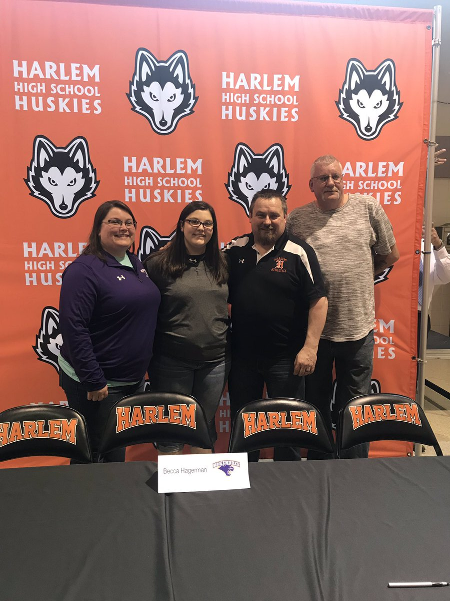 Committed to McKendree University!! I'm sad to be leaving the amazing program at Harlem but excited to begin a new journey at another great program #blessed 💜💛