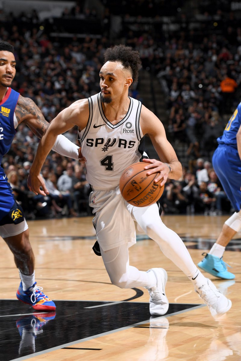 Derrick White ERUPTS for a career-high 36 points to help the Spurs get a 2-1 series lead.