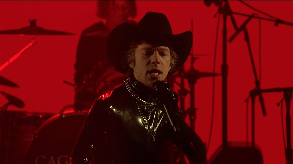 """.@CageTheElephant is on the Late Show and they're """"Ready to Let Go"""" #LSSC <br>http://pic.twitter.com/ZoypdjxIK0"""
