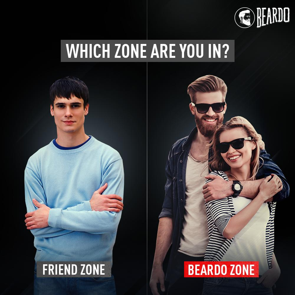 No #Beardo will enter the friend zone!  #BeBeardo