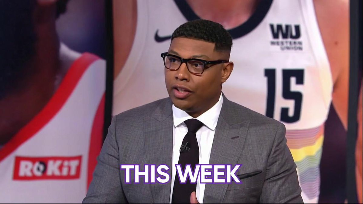 .@realtuffjuice's new look, @DwyaneWade's last fall and more highlight this week's #Shaqtin! 🤣  Presented by @hotelsdotcom