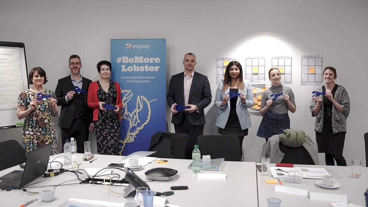 """test Twitter Media - """"It's added value to everyone irrespective of whether you're an emerging leader or not.  It reminds you of some real key skills or if you haven't used them before, it teaches you some new skills."""" Richard on our Growth Mindset Masterclass #BeMoreLobster  https://t.co/HxCjkuBEoQ https://t.co/GGFo3fpJtI"""