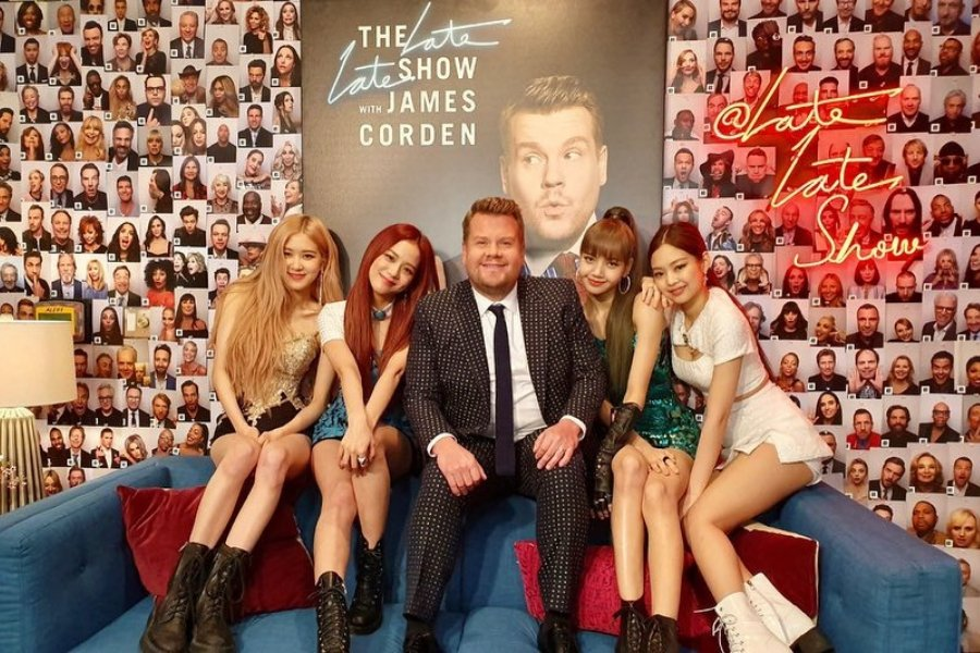 Soompi's photo on #LateLateShow