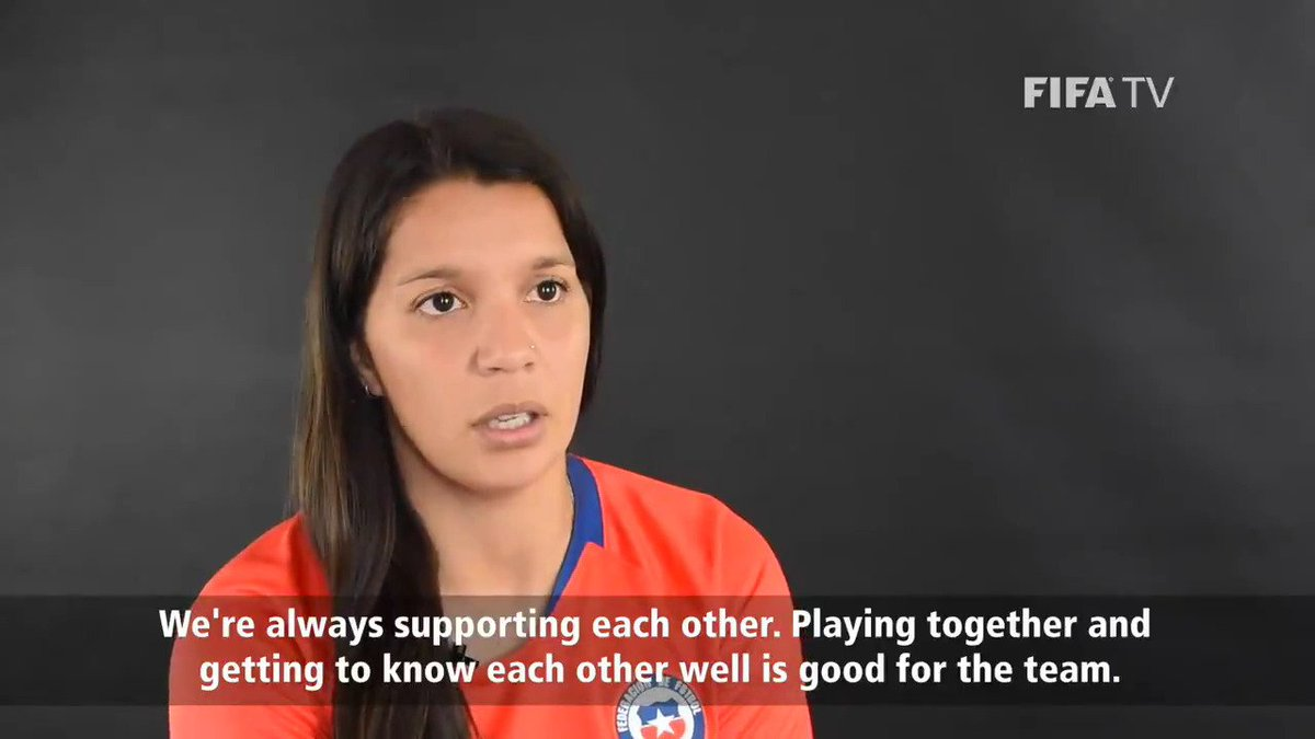 🇨🇱Karen Araya 🧠〰️⚽️〰️🧠 @panchalarachi 🇨🇱  With a decade together in @LaRoja's, midfield the Sevilla duo's telepathy when linking defence with attack could be crucial for the debutants at the #FIFAWWC.  More from them here 👉 https://fifa.to/dhqYdew10V