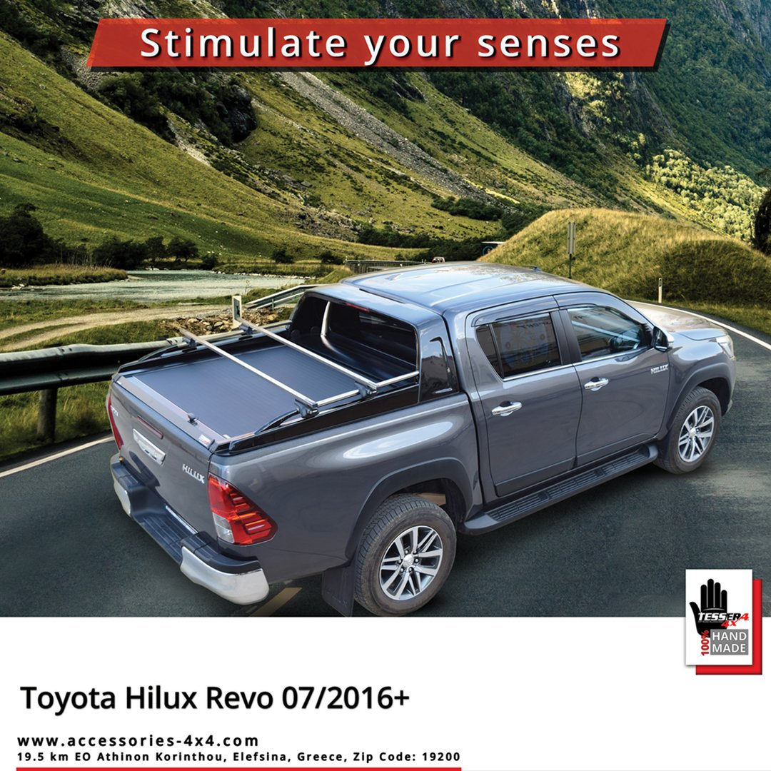 4x4 Accessories On Twitter Toyota Hilux Revo Aluminum Roller Lid Shutter Roll Top Cover Sotrollseries Black Matt Edition Combined With Stylish Rollbar Stainless Steel Side Handrails And Cross Racks By Tessera4x4 Accessories