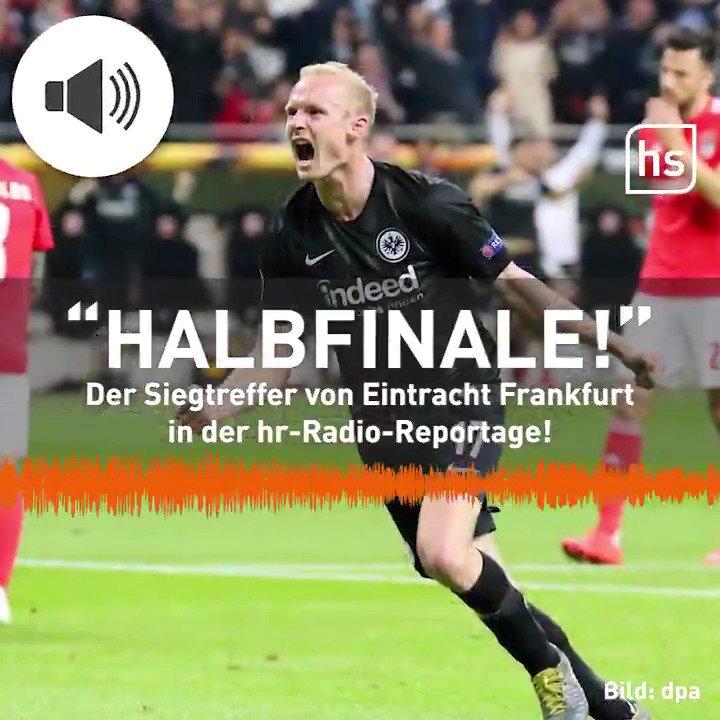 Die @Eintracht schießt Lissabon aus der @EuropaLeague! 🦅 Alle Tore aus der hr-Radio-Reportage:  #SGEBenfica #12gegen11 #SGEuropa