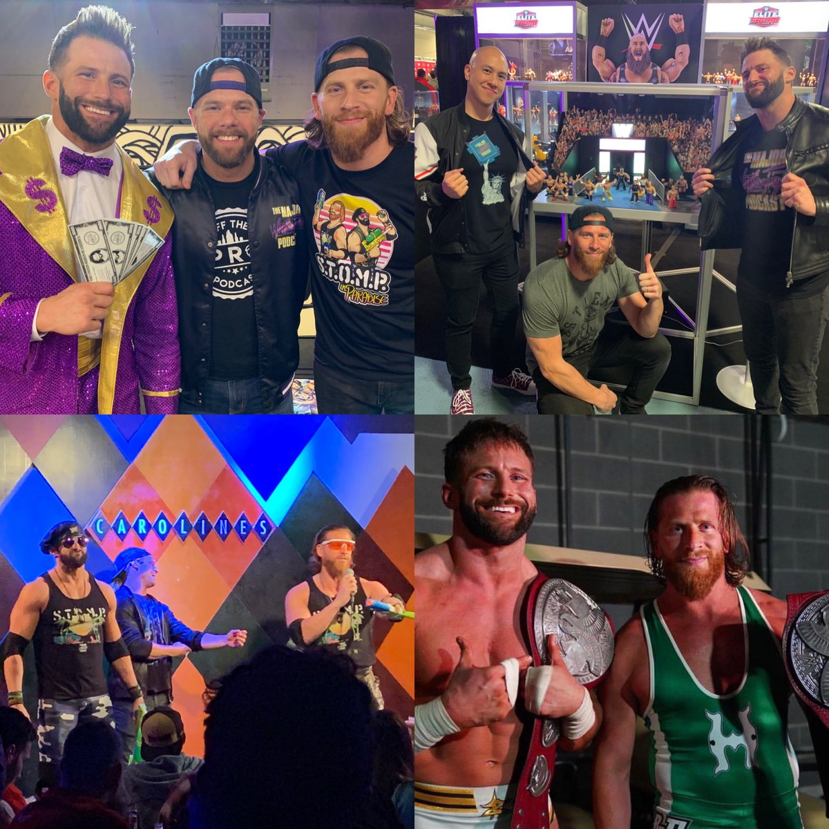 DOWNLOAD THIS WEEK'S @MajorWFPod!   @TheCurtHawkins & @ZackRyder discuss #WrestleMania week, all the new upcoming @Mattel figures, & much more!  RT TO BE ELIGIBLE TO WIN A #WWEEliteSquad HAT! 2 WINNERS!