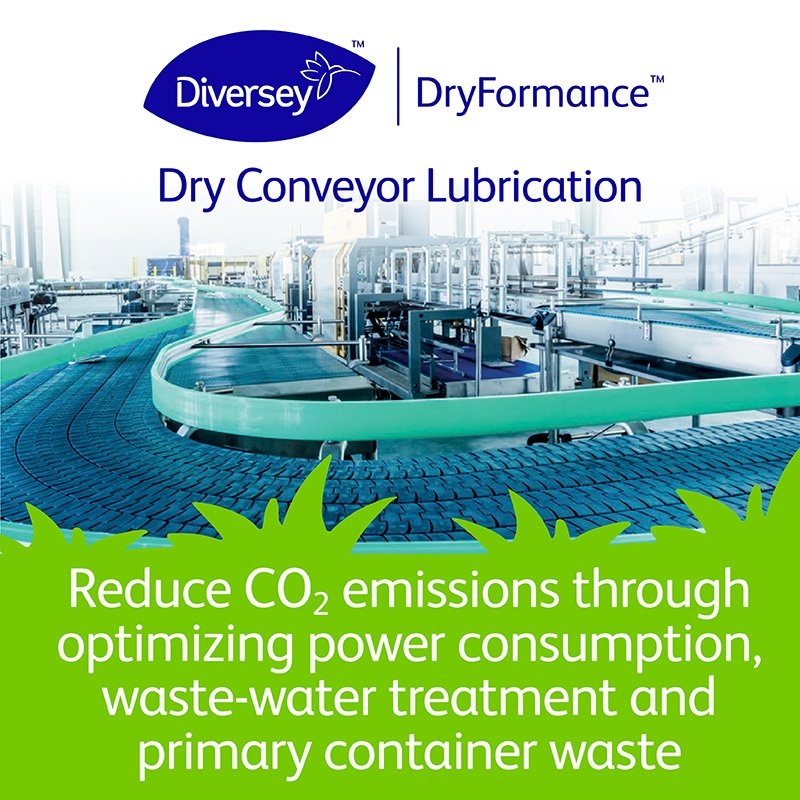 Implementing #Diversey #DryFormance technology helps to contribute to sustainability targets through reducing energy usage, CO2 emissions, water consumption and more. Learn more:  http://ow.ly/fove50pTyAs #EarthDay