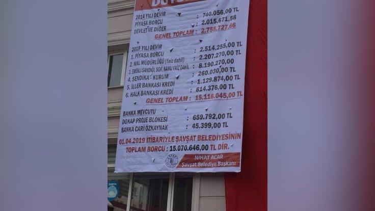Artvin Şavşat'da belediye borcu 15 milyon lira https://www.gazeteduvar.com.tr/turkiye/2019/04/19/artvin-savsatda-belediye-borcu-15-milyon-lira/…