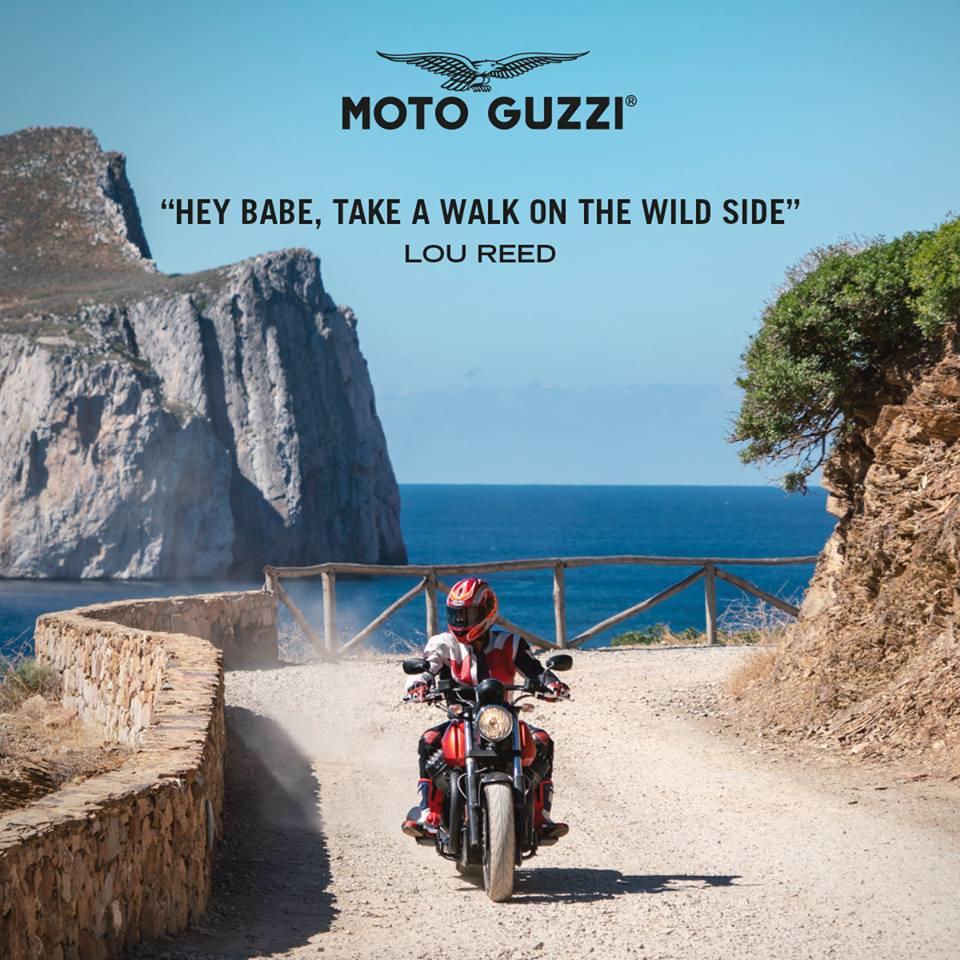 Mean, aggressive, rebel: in one word, Audace. http://avantgardemotors.in/ #Audace #MotoGuzzi #Guzzisti