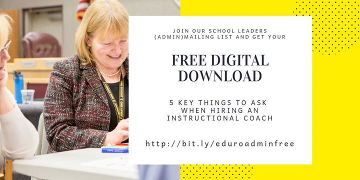 Looking for support when hiring #instructionalcoaches? We've got you covered!  Plus you'll be signed up to receive our newsletter created specifically for #edleaders 🙌  http://bit.ly/eduroadminfree  #EduroLearning #edchat #edtech #edleadership #edchatmena #asiaed #COETAIL #aussieed