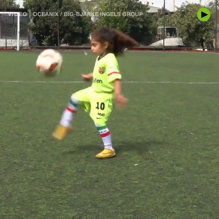 This little boy is a FOOTBALL PRODIGY from Iran and he is ready to eclipse Messi and Ronaldo!