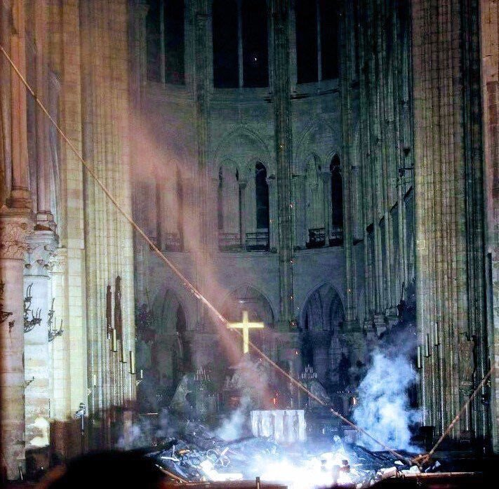 Cardinal Nichols's photo on Notre-Dame