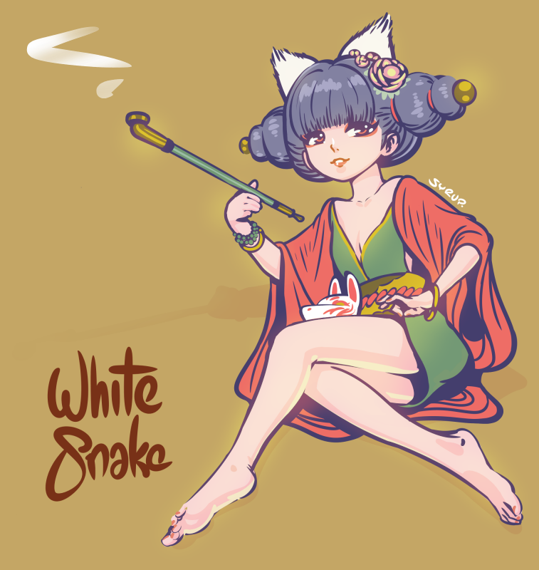 Black Syrup On Twitter Fox Girl From White Snake Bai She Yuan Qi 白蛇缘起