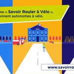 Image for the Tweet beginning: Le programme #SavoirRoulerAVelo a été
