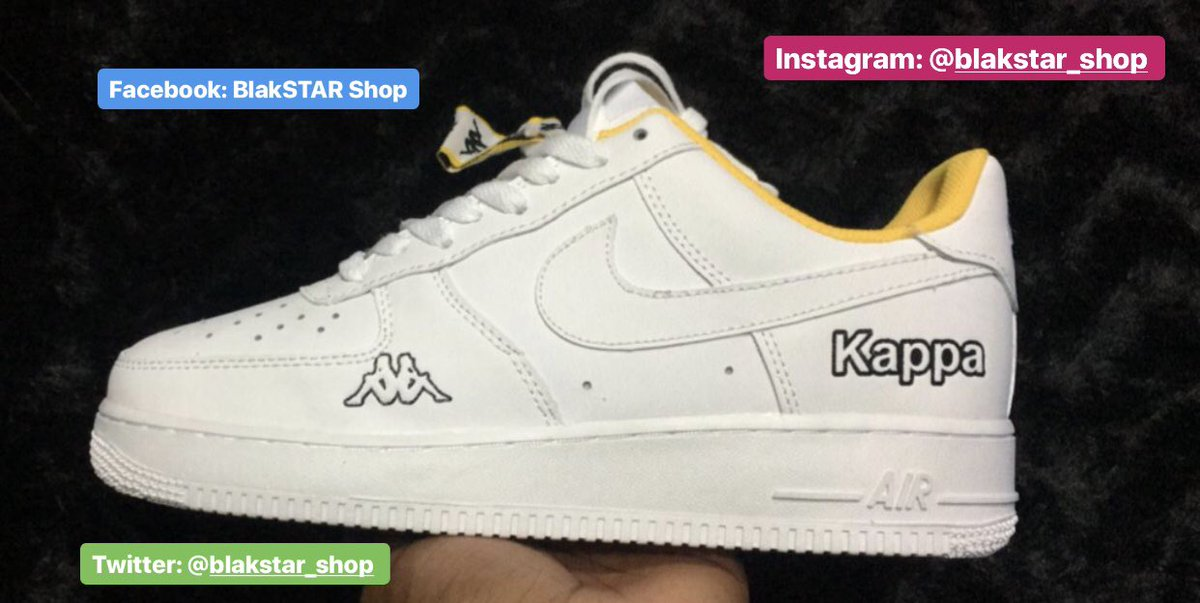 reputable site 64612 61437 Nike Air Force - Kappa Limited Edition Only R1 200 FREE DELIVERY AROUND SA  WhatsApp 0608604255