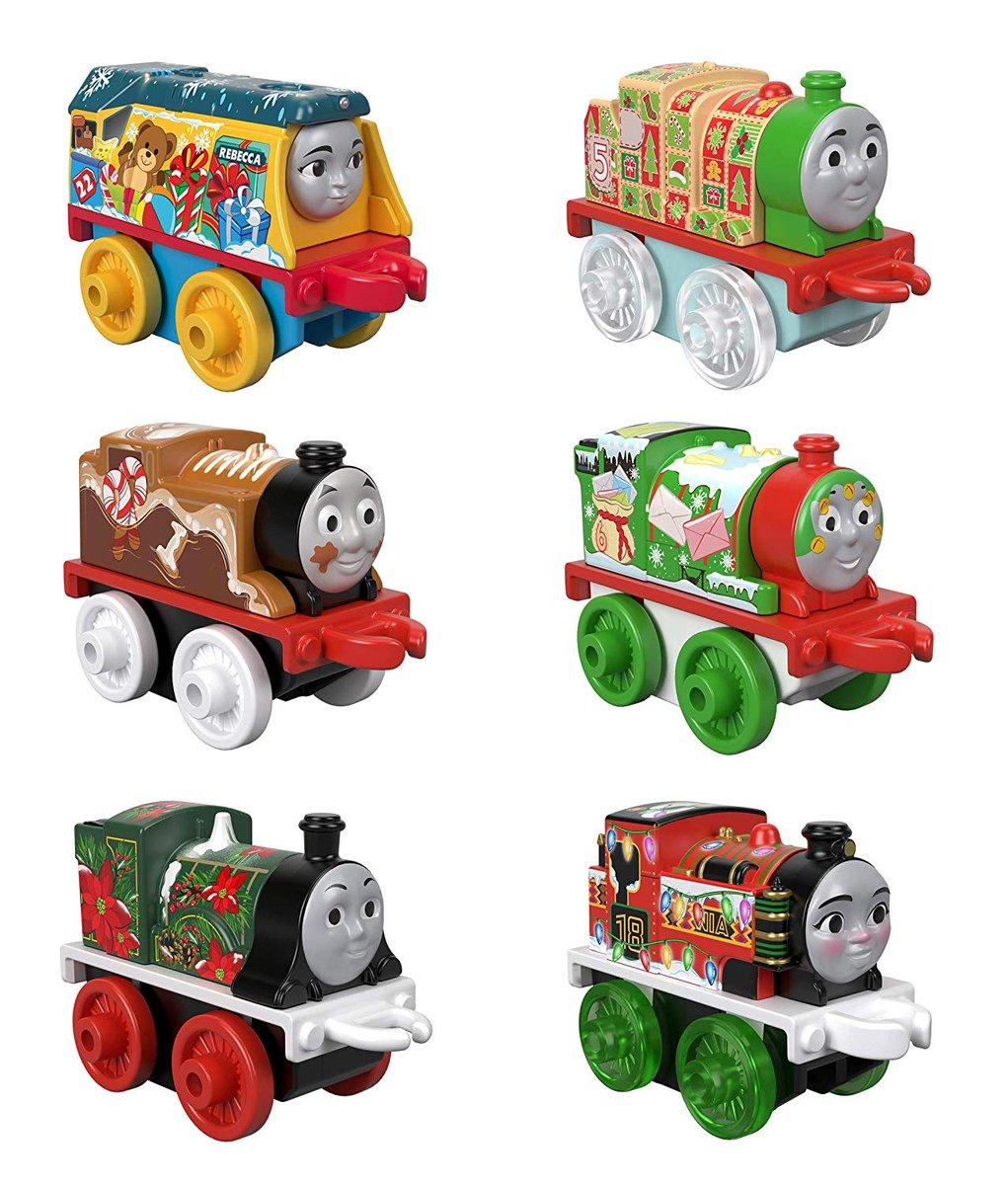 Fisher-Price Thomas & Friends Minis, Advent Calendar 2019Amazon USAでの取り扱いも開始したようですね、仮注文で一つ4000円程度で購入できますね。