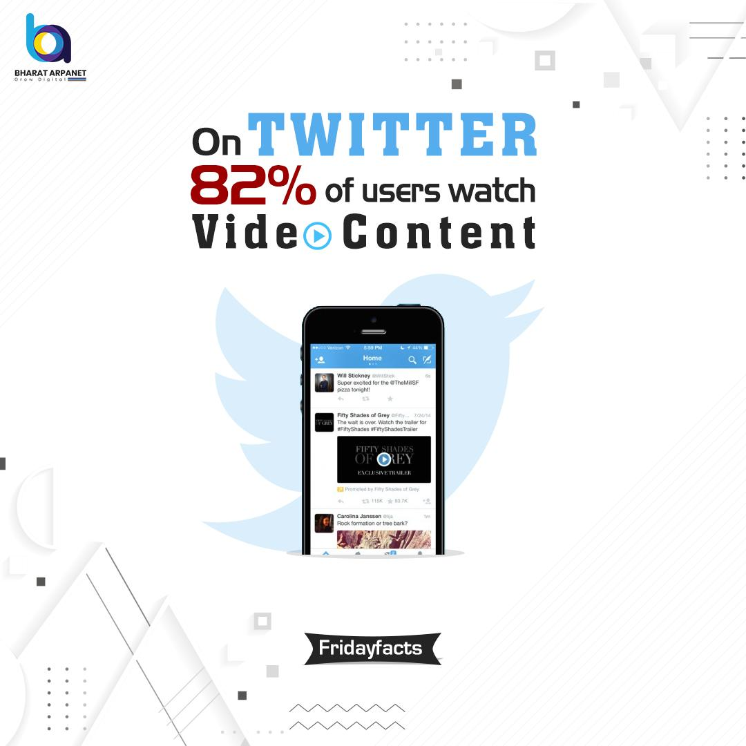 RT @BharatArpanet: Interesting Facts About #VideoMarketing That You Definitely Did Not Know!  For More visit- http://www.bharatarpanet.com   #Bharatarpanet #Digitalmarketing #vediocontent #digitaltrends #digitallearning #digitalearning #learnandearn #learnsha…