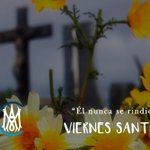 Image for the Tweet beginning: VIERNES SANTO. Jesús desde la cruz