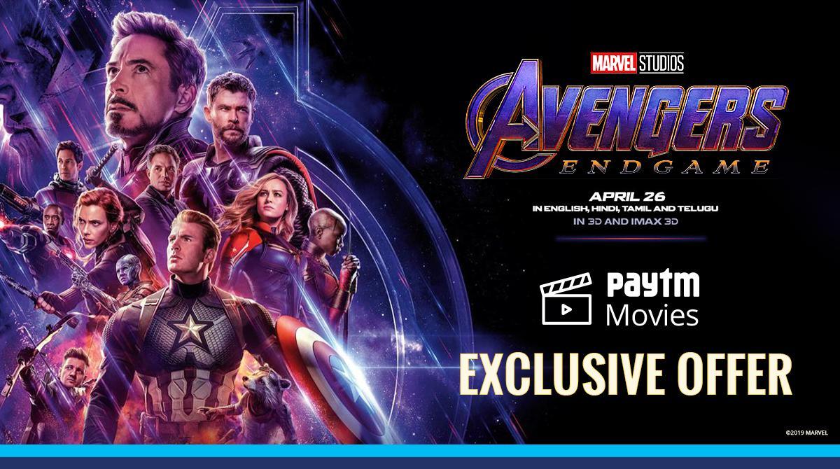 @imthiboss Hey! Looks like you're all set to #AvengeTheFallen on April 26. Here's a surprise #AvengersEndgame Movie Ticket Offer for you! @PaytmTickets 🎬  ➡️ http://bit.ly/PaytmAvengers
