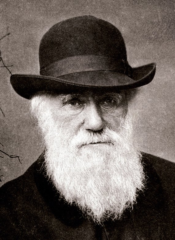 Home of Darwin's photo on Charles Darwin