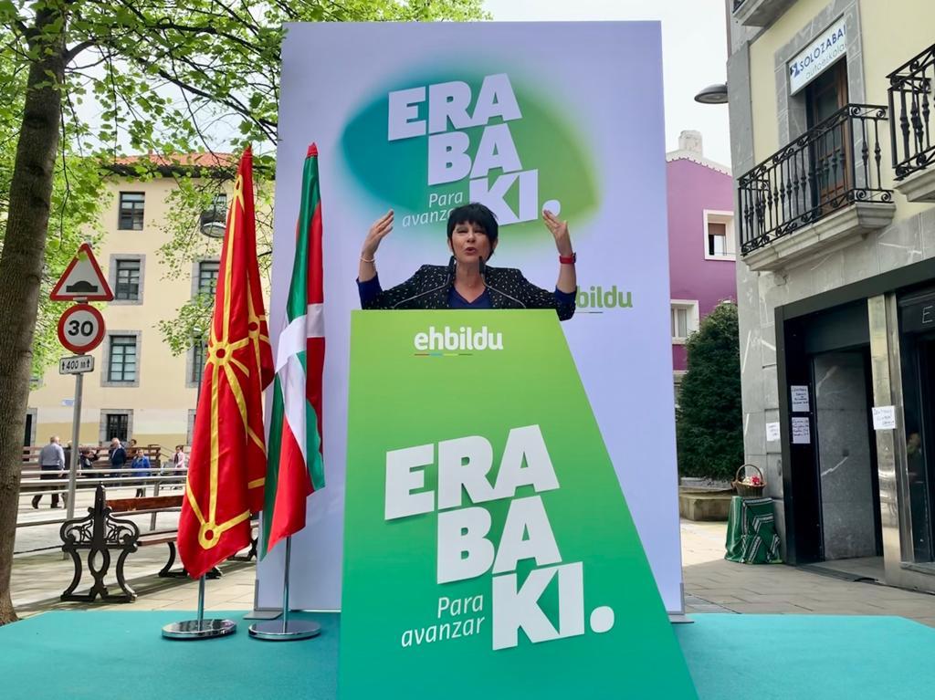 🔴@MaddalenIriarte en #Lekeitio: «@ehbildu ha desmotrado cumplimos lo que decimos. Si decimos que vamos a ser determinantes en Madrid y que vamos a aprovechar esa oportunidad para avanzar en lo que interesa y preocupa a la ciudadanía vasca, es que será así» 👉 #28A #ParaAvanzar