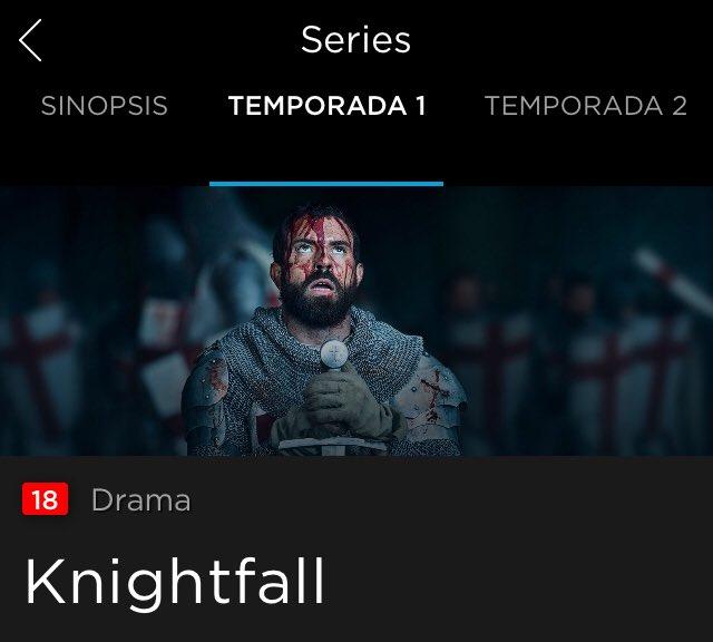 Casi me caigo del sofá viendo la serie de FICCIÓN Knightfall... hablando del Príncipe Lluis de Cataluña en lugar de Aragón. Muy triste la manipulación histórica de algunos paisanos. #catalonia #knightfall #reinodearagon #historia