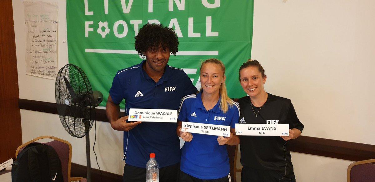 Best Team 🤜🤛  Another great experience. OFC/FIFA Coach educator. #NewZealand #newcaledonia #Tahiti . @emma_evans7 @OFCfootball @FtblOceania