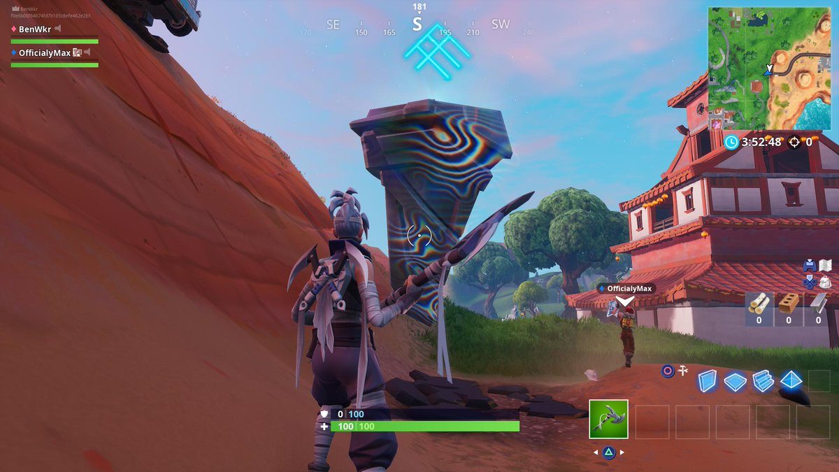 Every 100 million damage done to the rune south of Fatal Fields moves it forward. The damage to it is synced across all servers, so it is a player effort to move it.   (via @lucas7yoshi_)