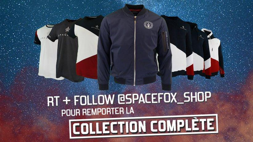 [CONCOURS] C'est enfin le retour des stocks sur @Spacefox_shop ! Du coup on fait gagner la collection COMPLÈTE à l'un ou l'une d'entre vous ! ✨ #RT + #FOLLOW @Spacefox_shop pour participer ! BONNE CHANCE ! 🚀🚀🚀