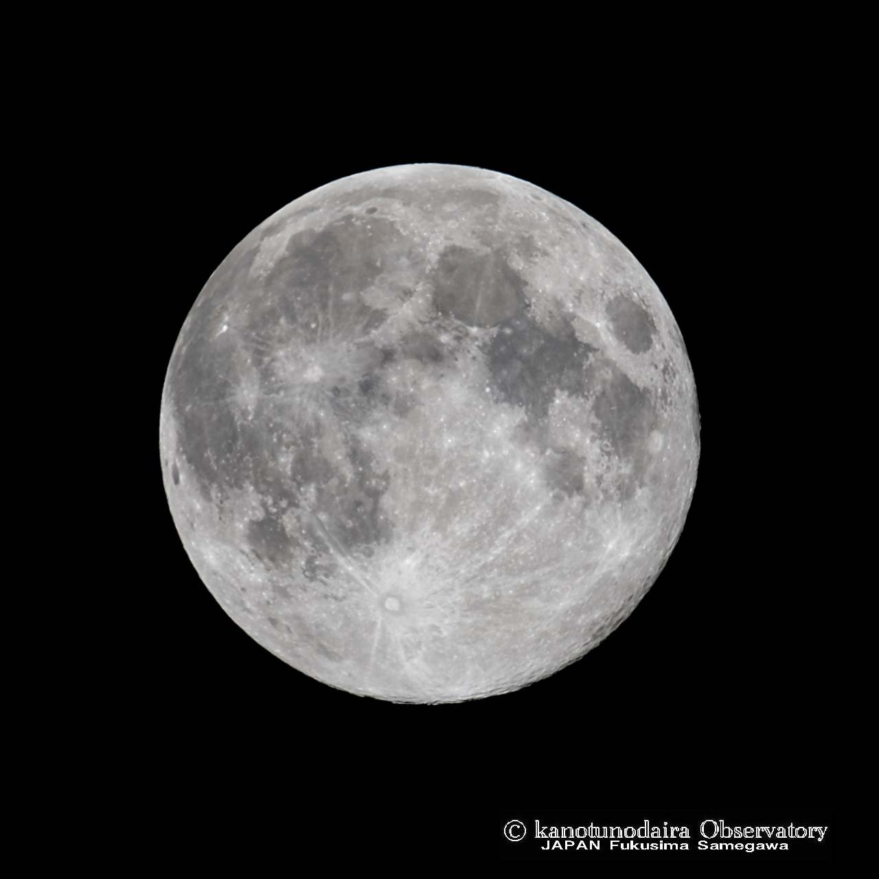 平成最後の満月