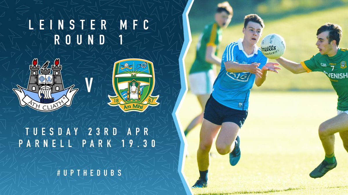test Twitter Media - Just a few days to go until our Minor Footballers begin their Leinster journey! They face @MeathGAA next Tuesday 23rd in Parnell Park at 19:30! 🔥 #UpTheDubs https://t.co/LVdFNUpdGQ